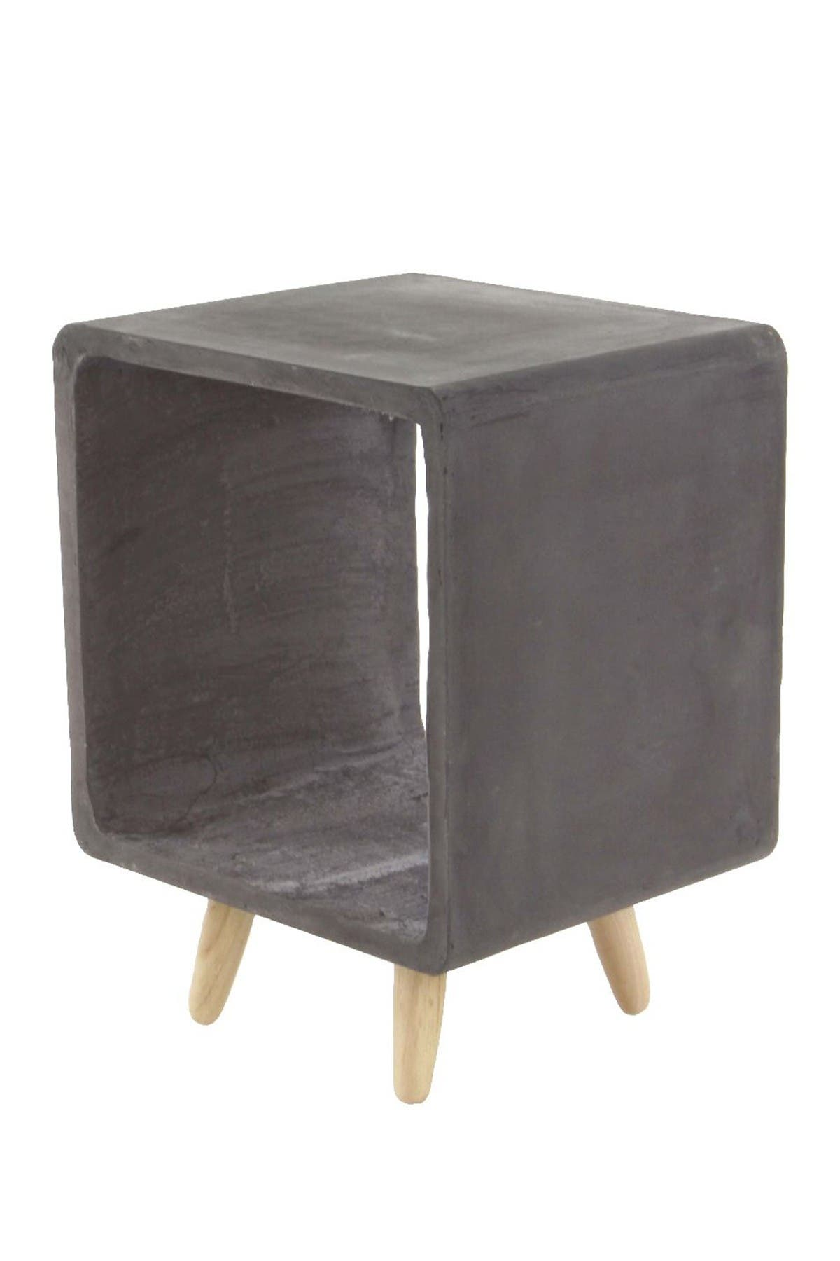 Image of Willow Row Contemporary Square Fiberclay Accent Table
