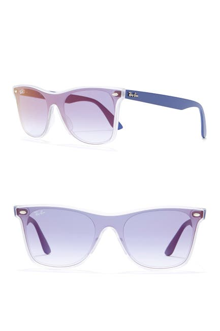 Image of Ray-Ban 141mm Blaze Wayfarer Sunglasses