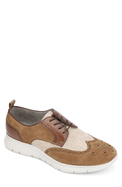 Image of Kenneth Cole New York Trent Wingtip Lace-Up Sneaker