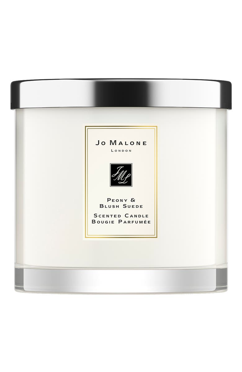 JO MALONE LONDON<SUP>™</SUP> Peony & Blush Suede Deluxe Candle, Main, color, NO COLOR