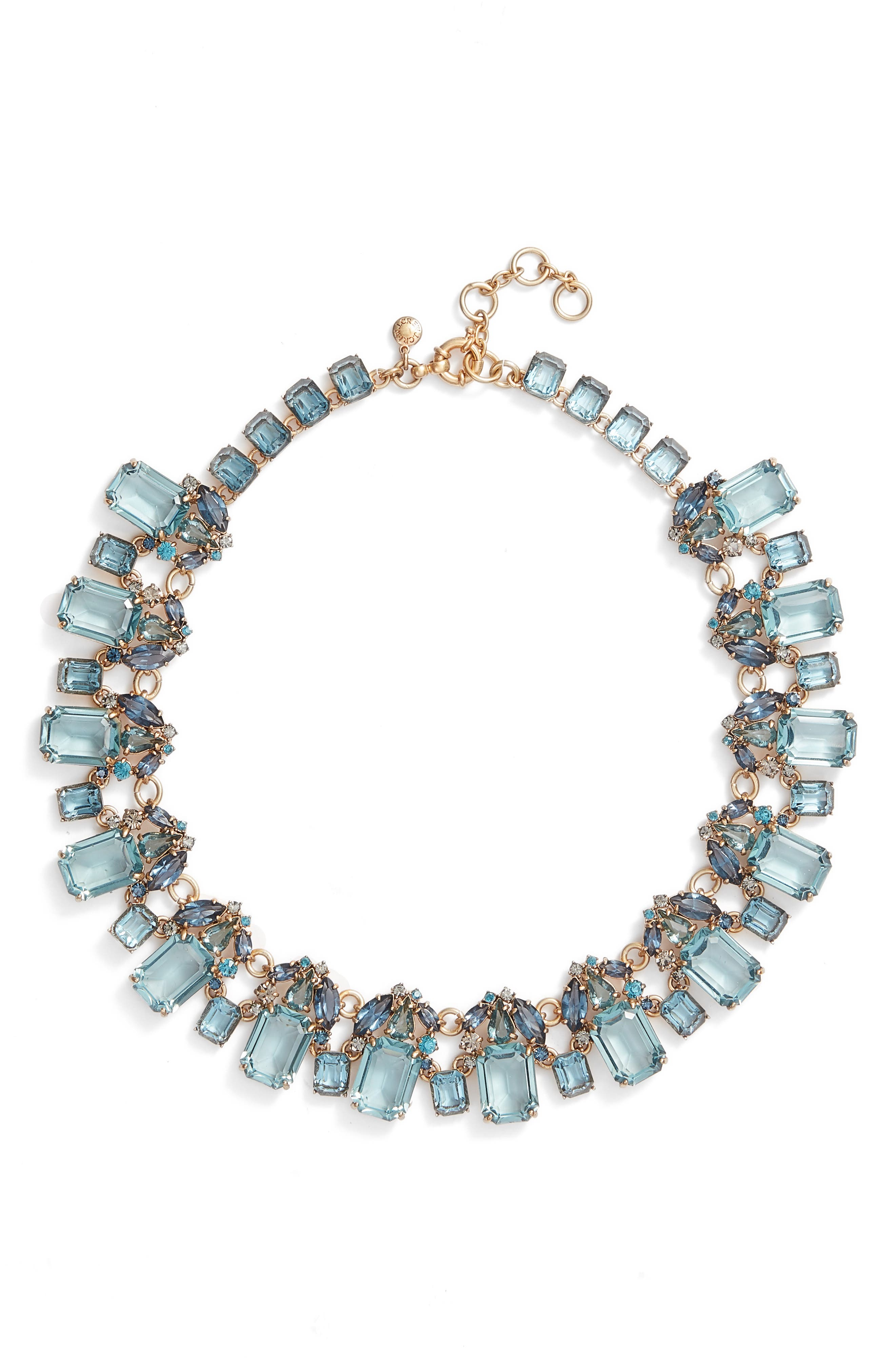 ,                             J. Crew Glass Bead Necklace,                             Main thumbnail 3, color,                             400