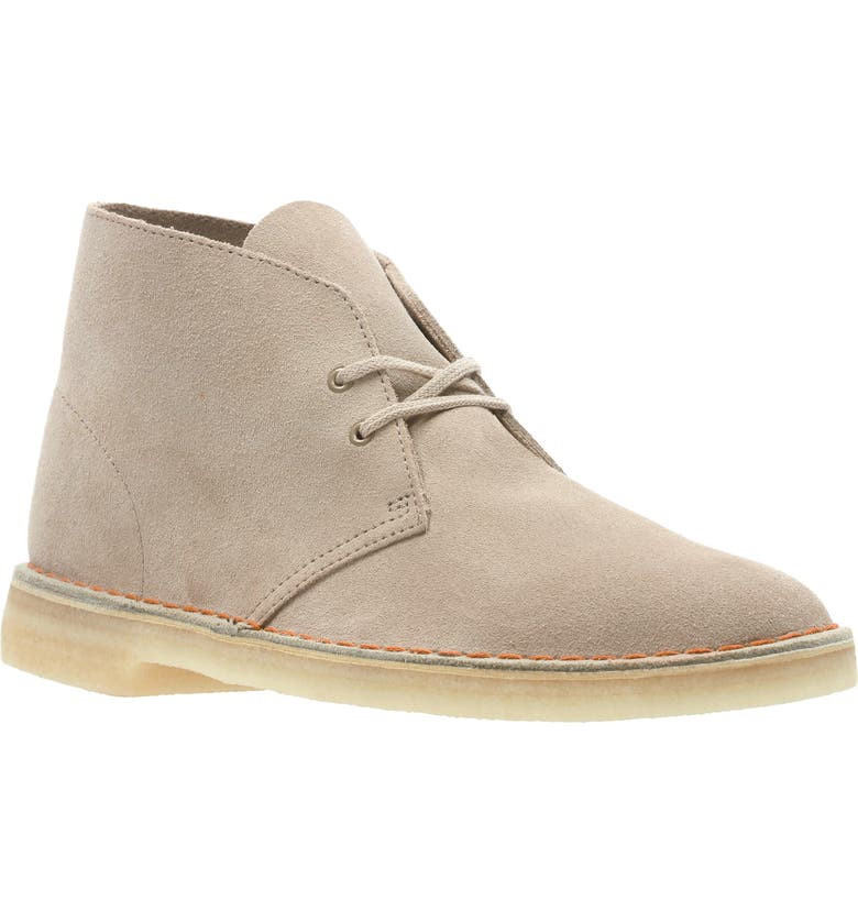 CLARKS<SUP>®</SUP> Originals 'Desert' Boot, Main, color, SAND/BEIGE SUEDE