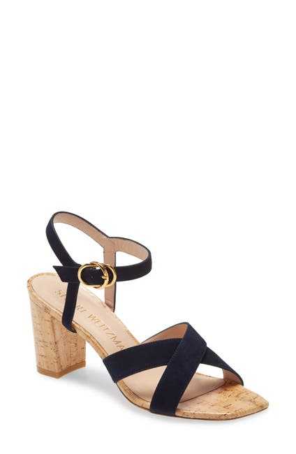 Image of Stuart Weitzman Analeigh Ankle Strap Sandal