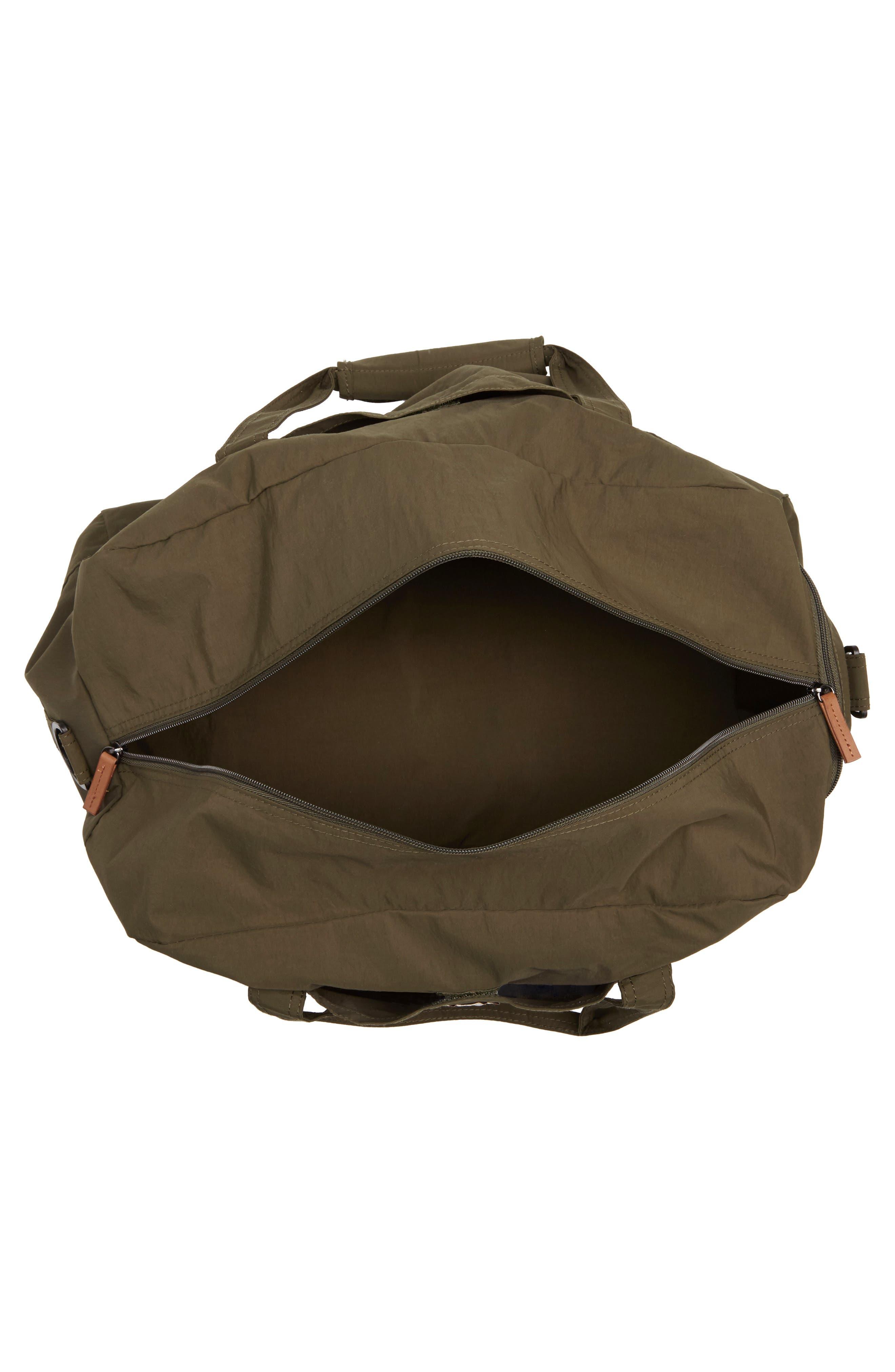 ,                             Banchory Packable Duffle Bag,                             Alternate thumbnail 4, color,                             DARK GREEN