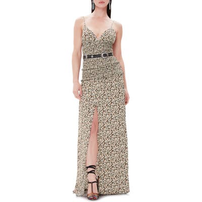 Afrm Shay Maxi Dress, Black