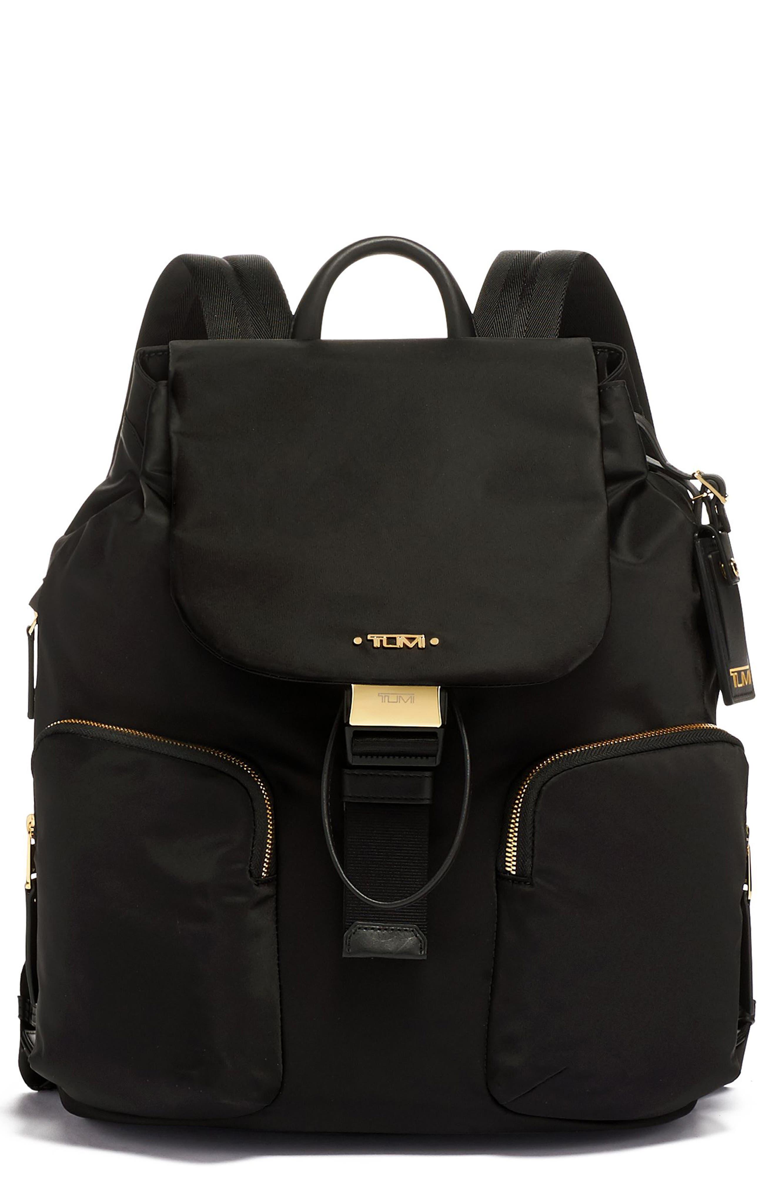 Rivas Nylon Backpack, Main, color, 001
