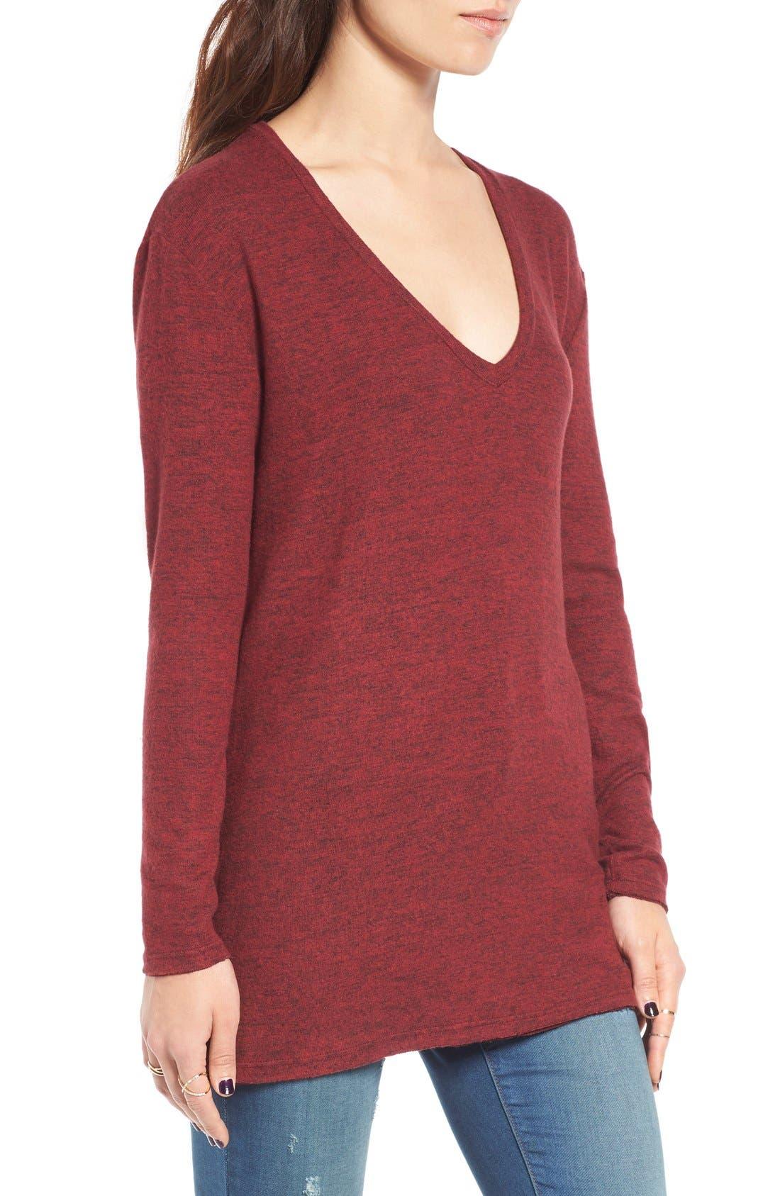 ,                             Cozy V-Neck Sweater,                             Alternate thumbnail 64, color,                             601