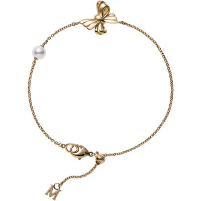 Mikimoto Ribbon Pearl Bracelet