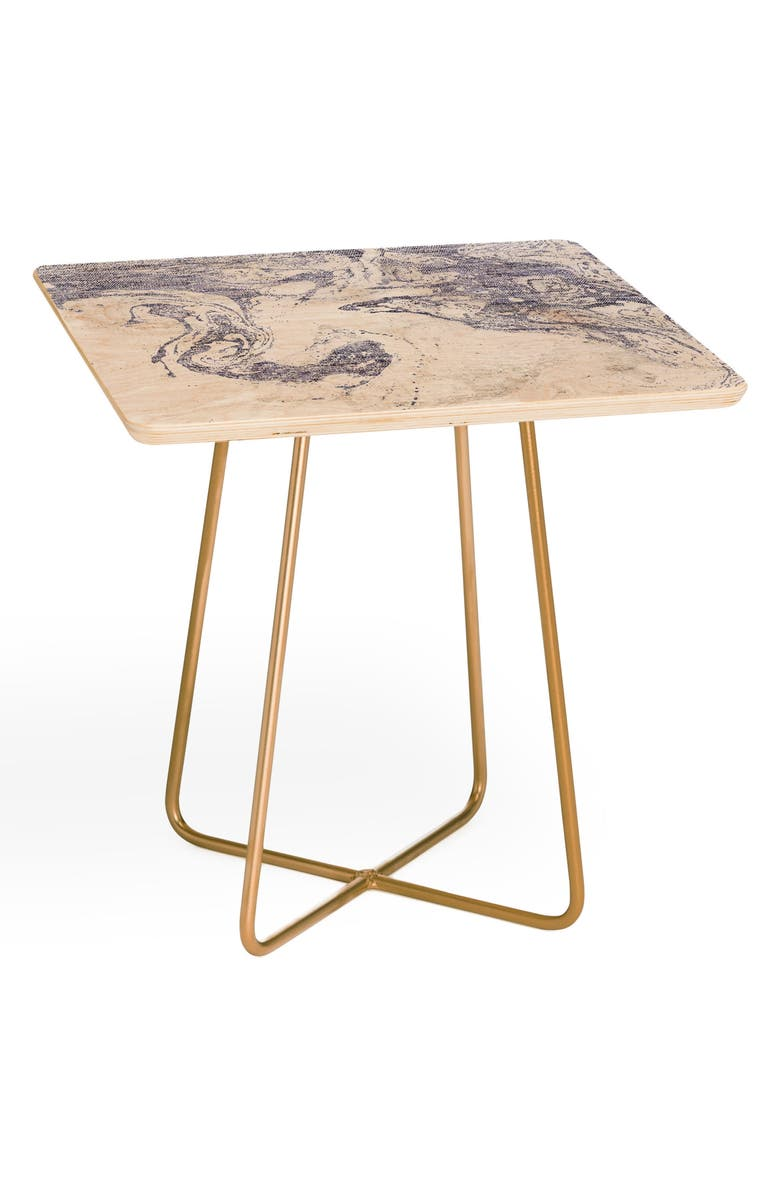 DENY DESIGNS Holli Zollinger French Side Table, Main, color, 400