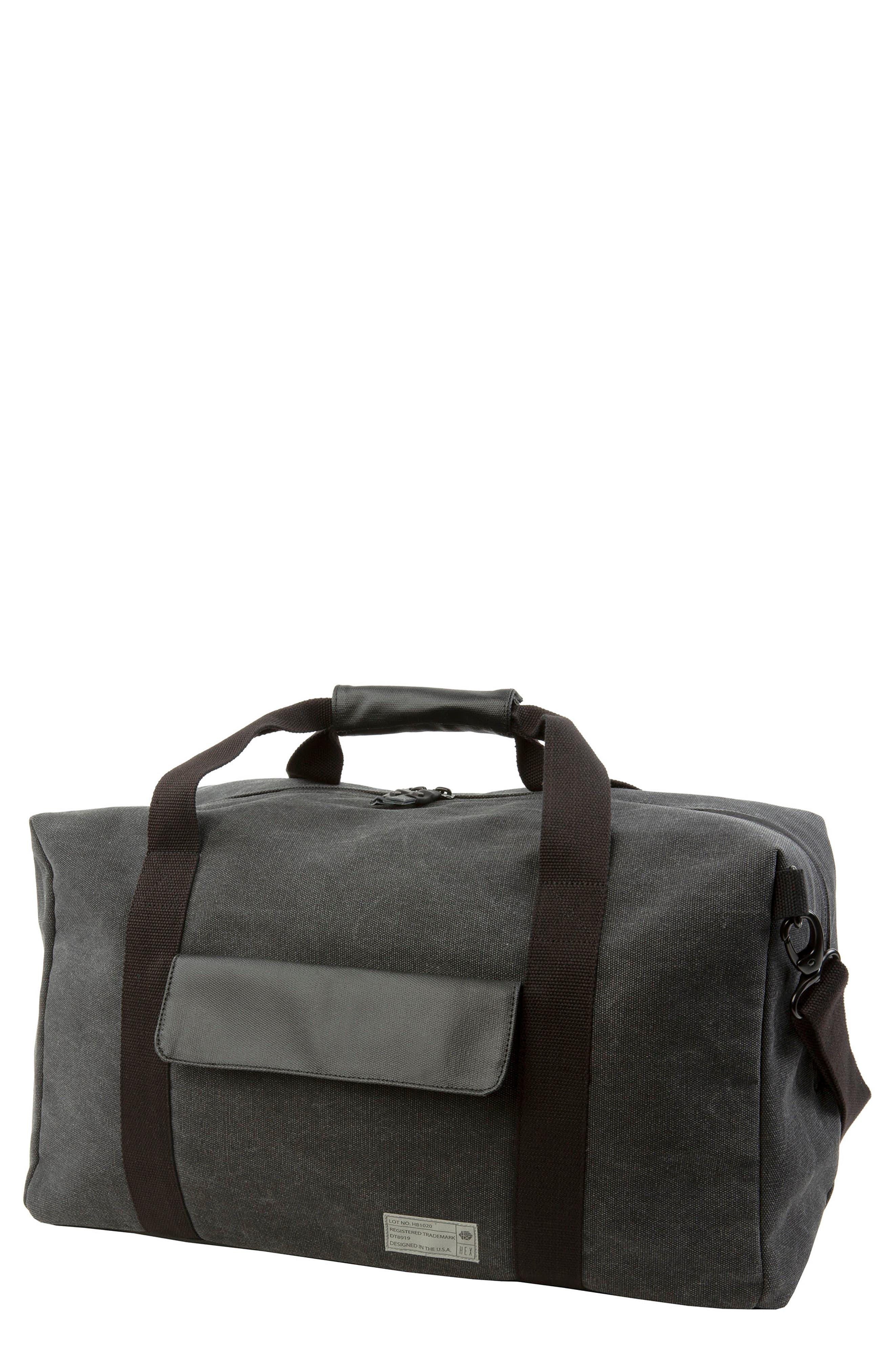 Hex Duffel Bag - Grey