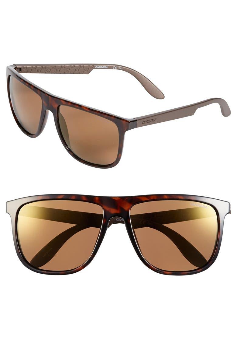 CARRERA EYEWEAR 58mm '5003' Sunglasses, Main, color, 210