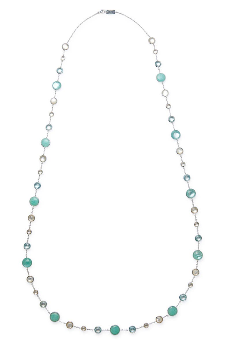 IPPOLITA Lollipop Lollitini Long Necklace, Main, color, SILVER