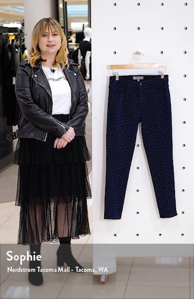Ab-Solution Dot Print Cotton Blend Ankle Pants, sales video thumbnail