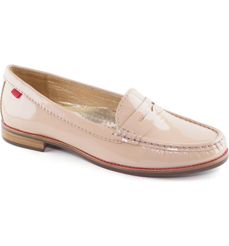 MARC JOSEPH NEW YORK East Village Loafer, Main, color, NUDE PATENT