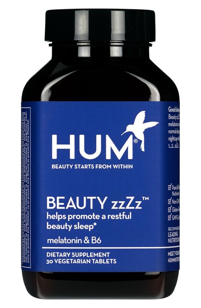 HUM NUTRITION Beauty zzZz Sleep Supplement, Main, color, NO COLOR