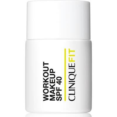 Clinique Cliniquefit Workout Makeup Broad Spectrum Spf 40 - 07 Deep