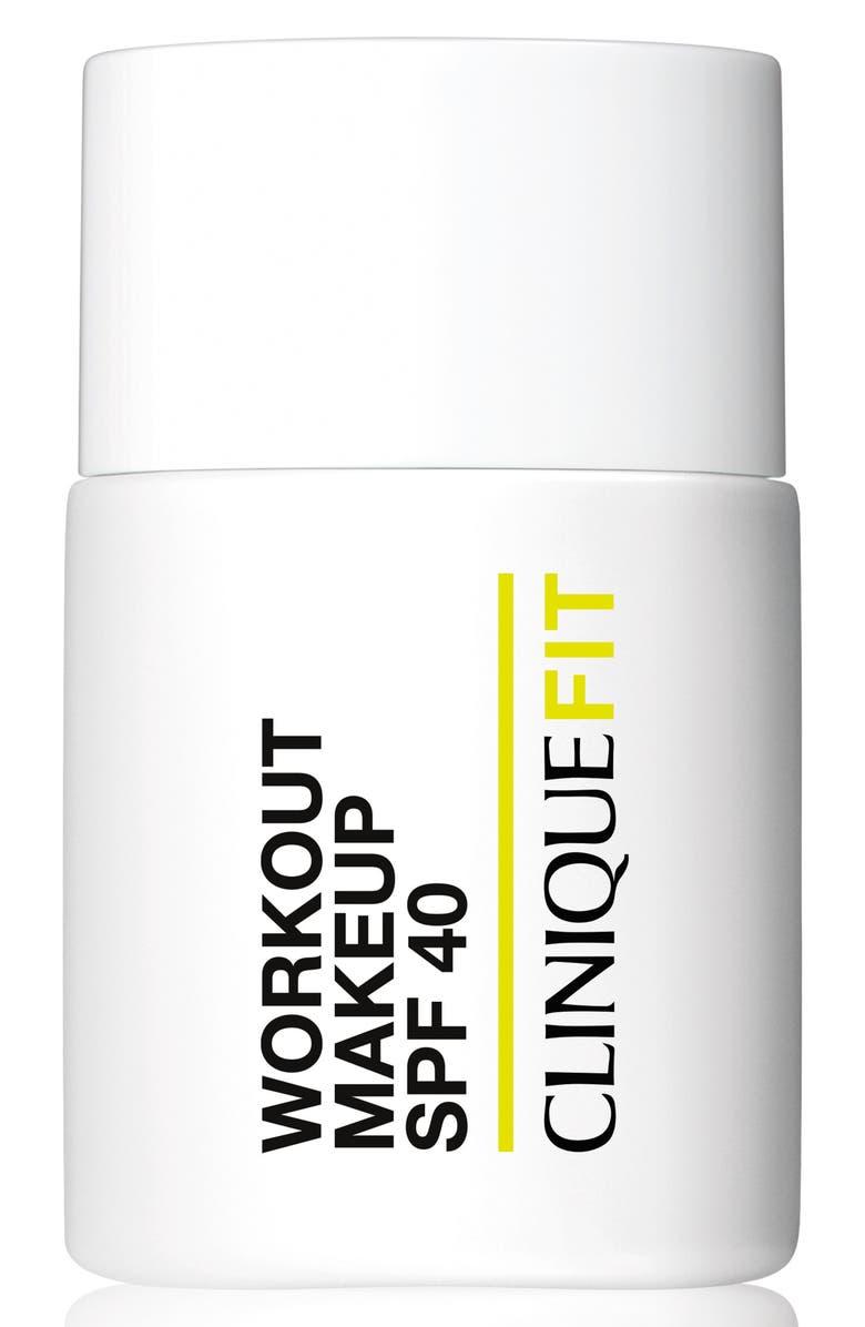 CLINIQUE CliniqueFIT Workout Makeup Broad Spectrum SPF 40, Main, color, 250