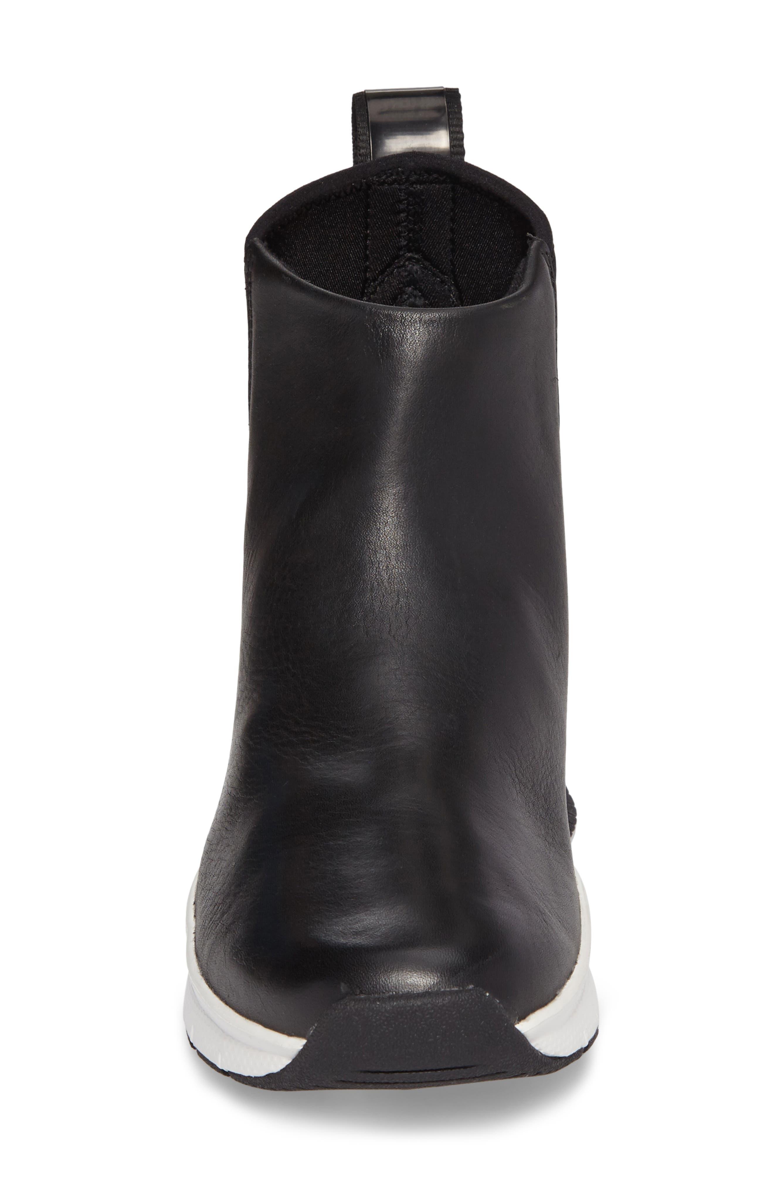 ,                             Rivah High Premium Waterproof Sneaker Boot,                             Alternate thumbnail 4, color,                             001