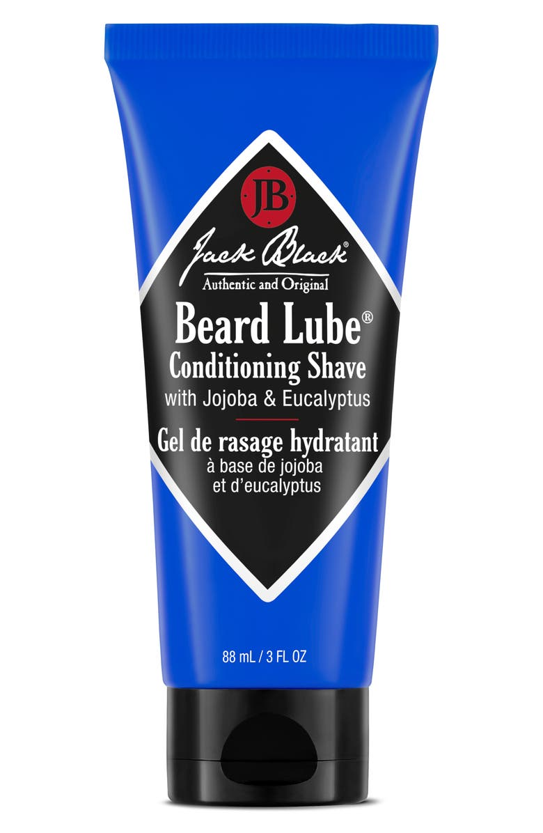 JACK BLACK Beard Lube Conditioning Shave, Main, color, NO COLOR
