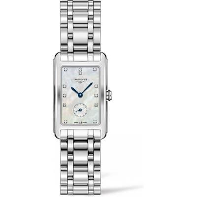 Longines Dolcevita Diamond Bracelet Watch, 2m X 37Mm