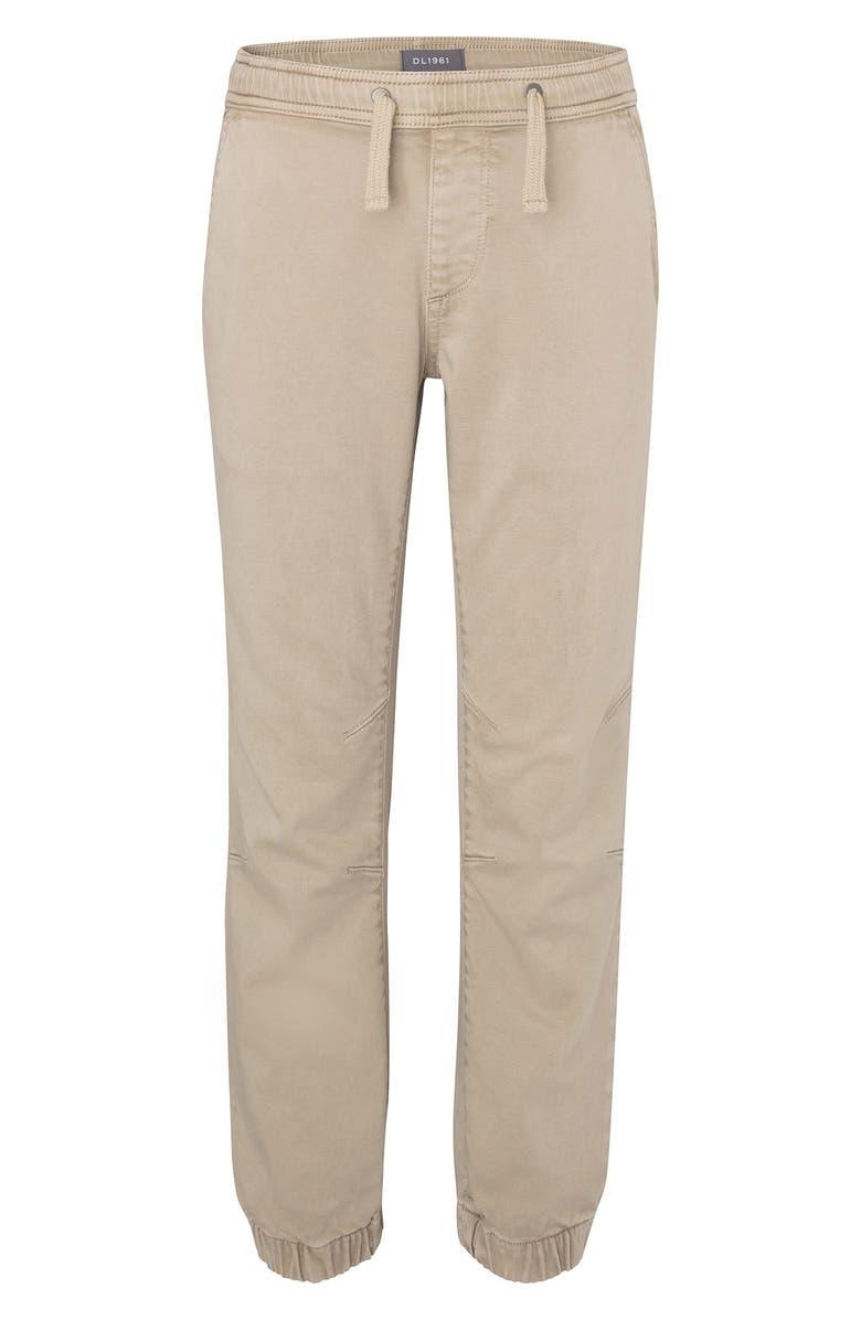 DL1961 Khaki Jogger Pants, Main, color, ALDER