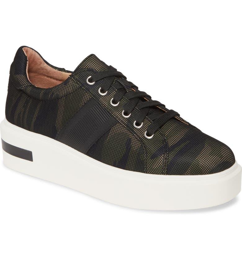LINEA PAOLO Kim Sneaker, Main, color, CAMO FABRIC
