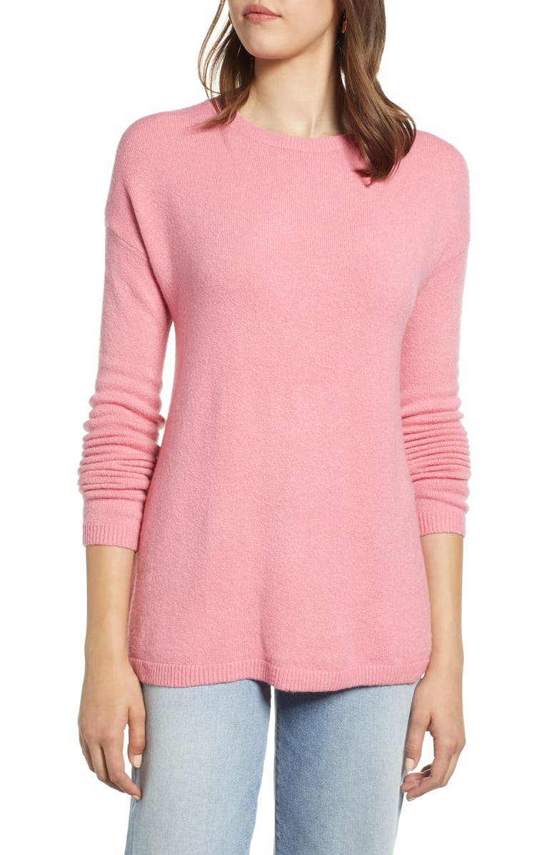 HALOGEN<SUP>®</SUP> Bow Back Sweater, Main, color, 660