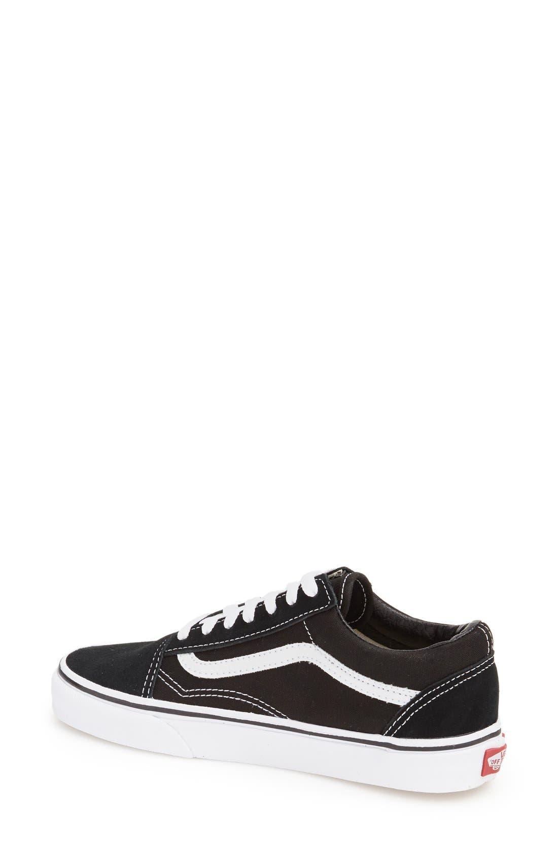 ,                             Old Skool Sneaker,                             Alternate thumbnail 2, color,                             BLACK CANVAS