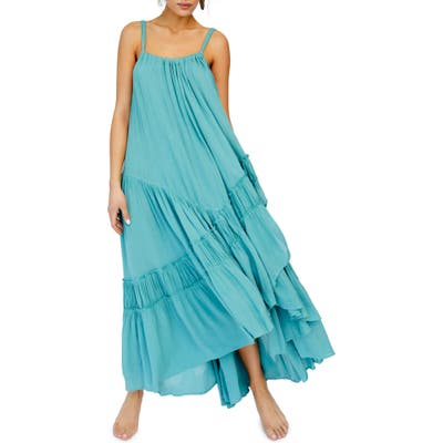 Endless Summer By Free People Bare It All Maxi Dress, Blue