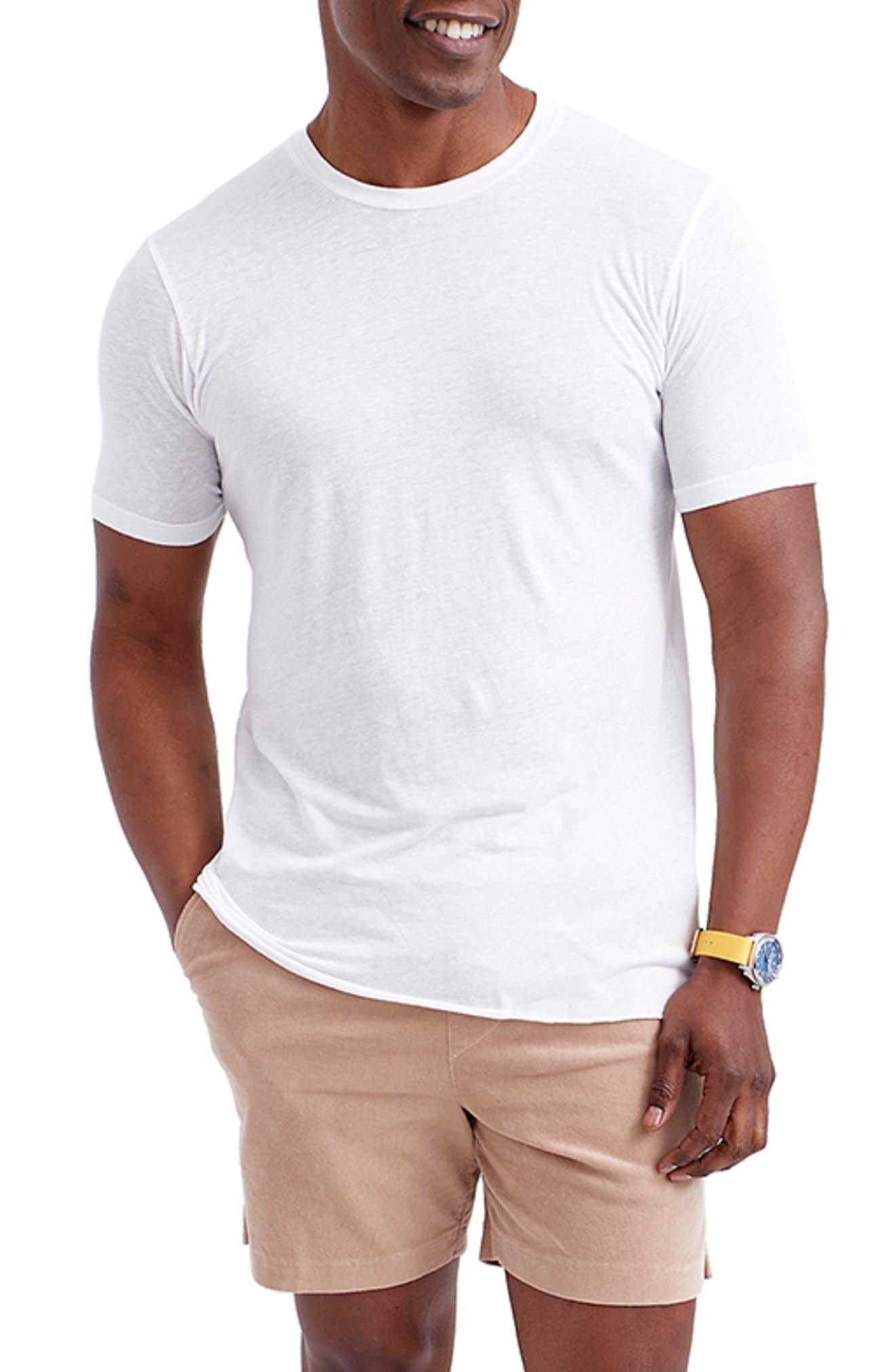 Stripe Crewneck T-Shirt