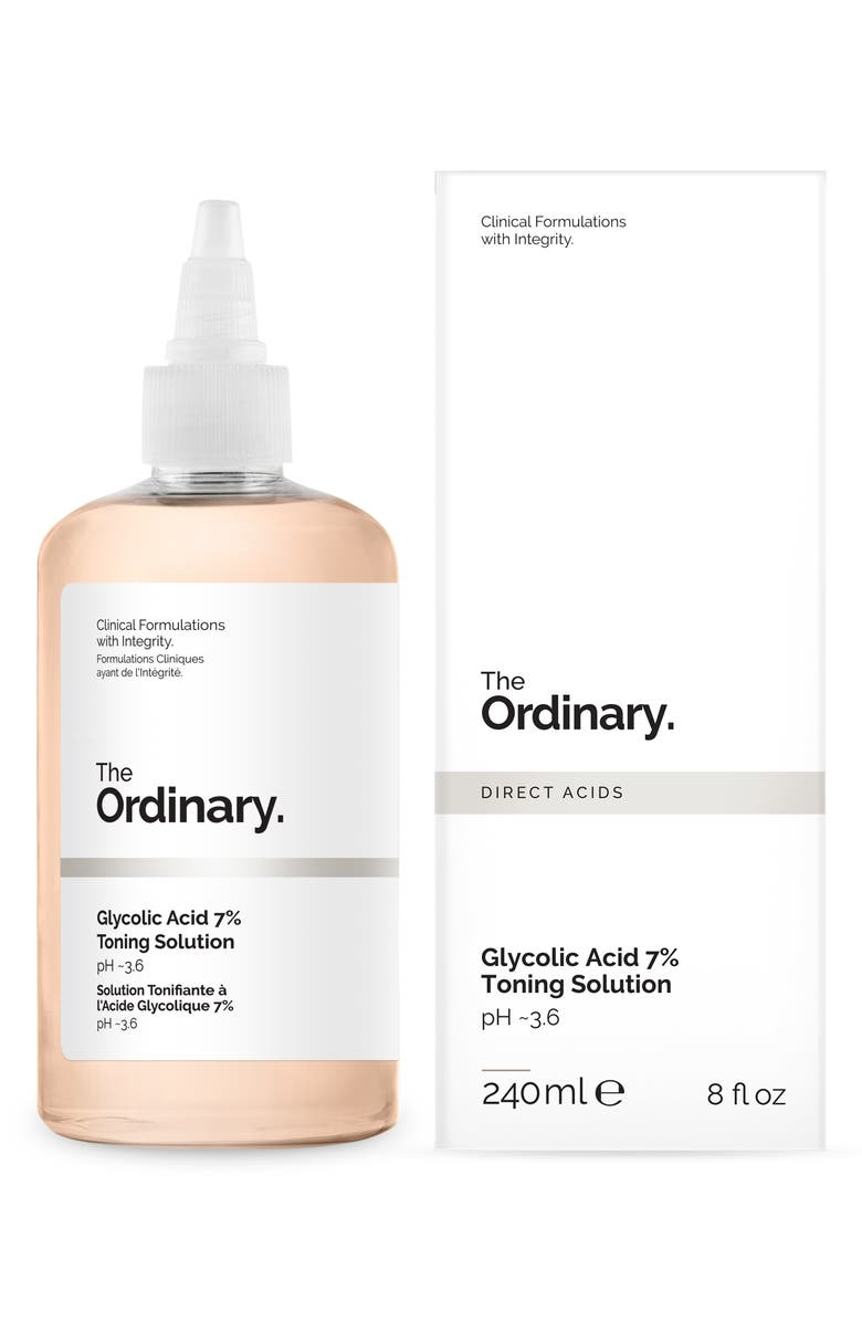 THE ORDINARY Glycolic Acid 7% Toning Solution, Main, color, 960