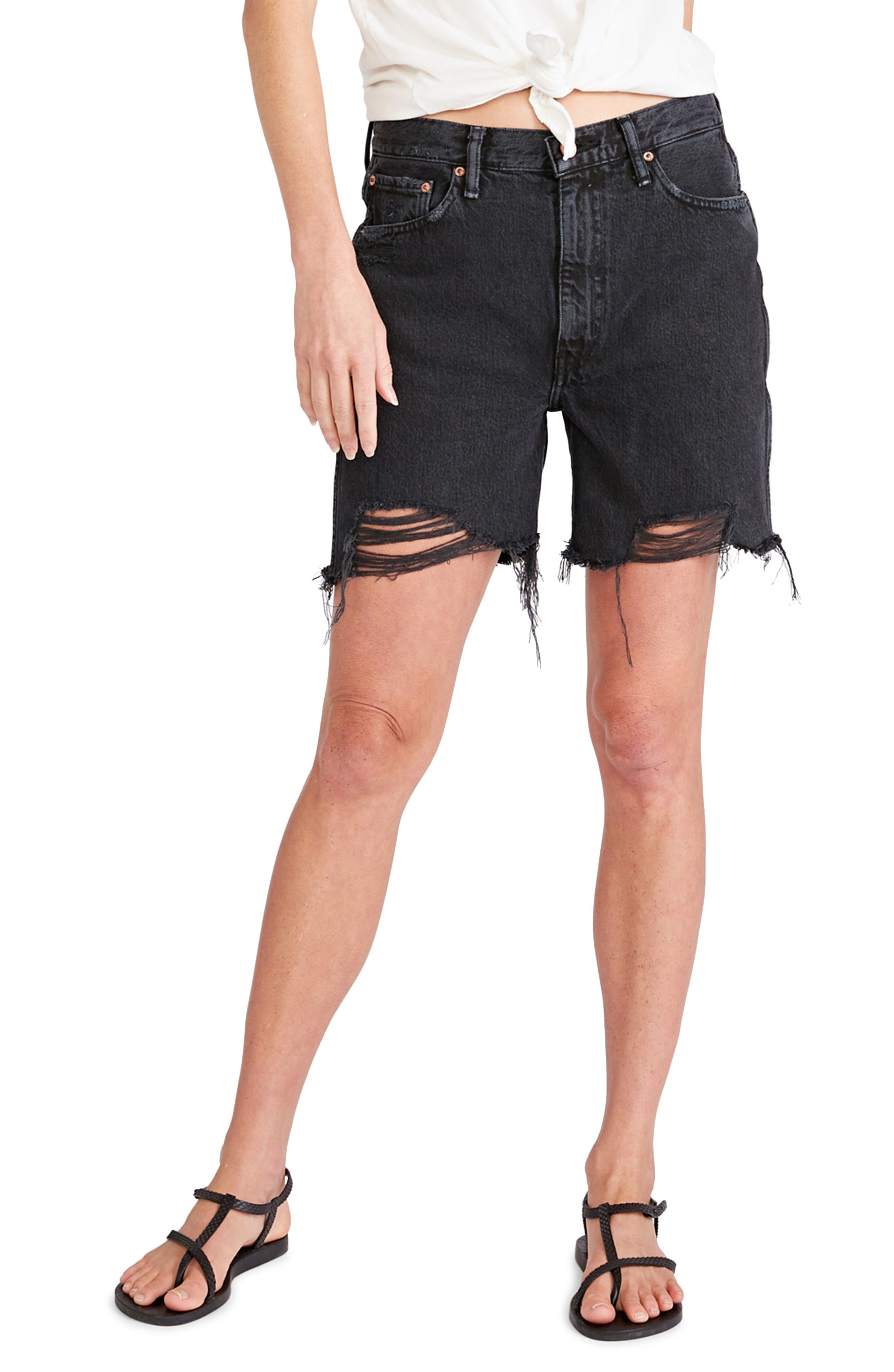 Women's Etica Skylar Cutoff Denim Shorts