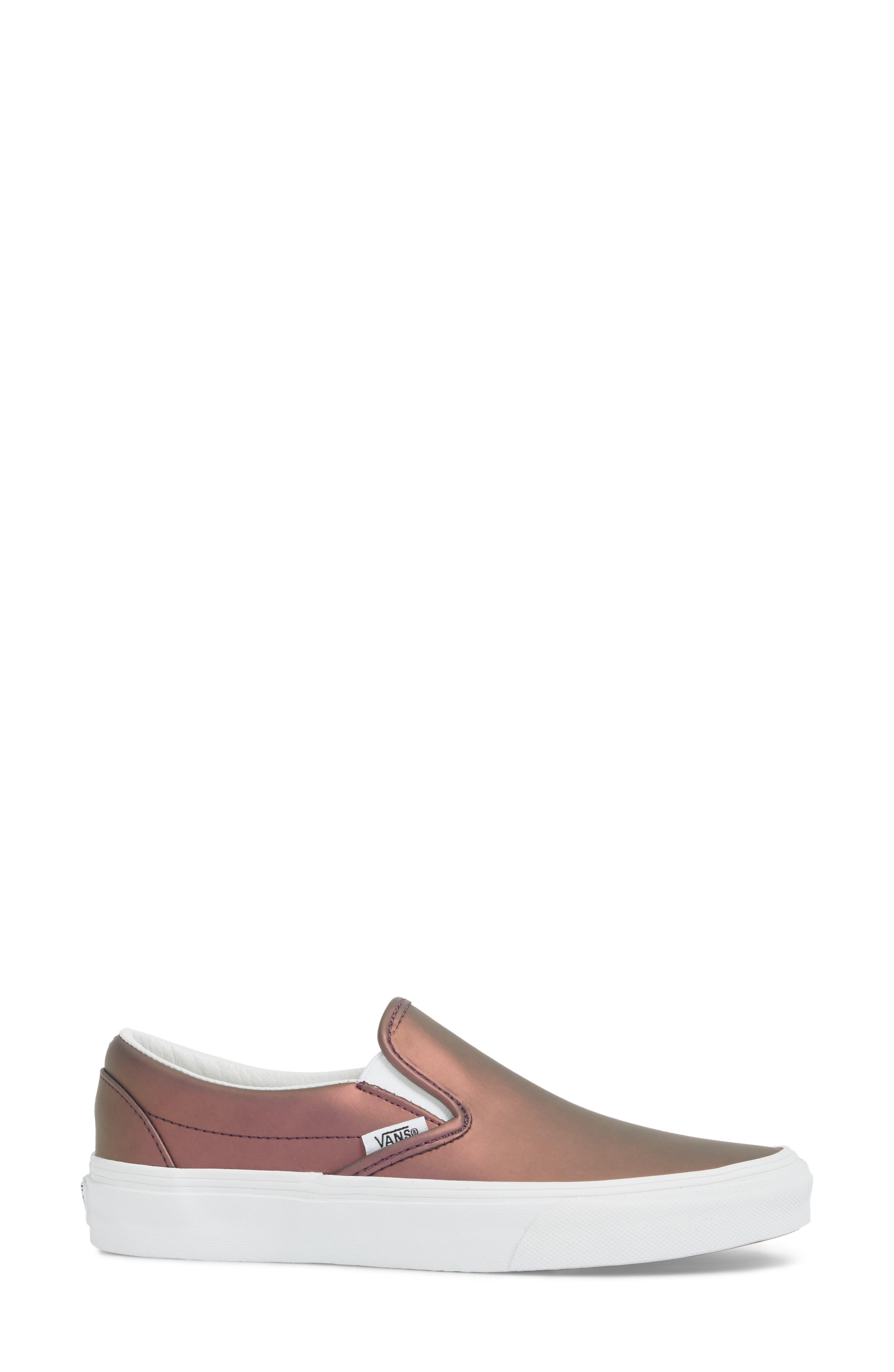 ,                             Classic Slip-On Sneaker,                             Alternate thumbnail 185, color,                             610