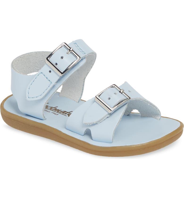 FOOTMATES Tide Waterproof Sandal, Main, color, LIGHT BLUE