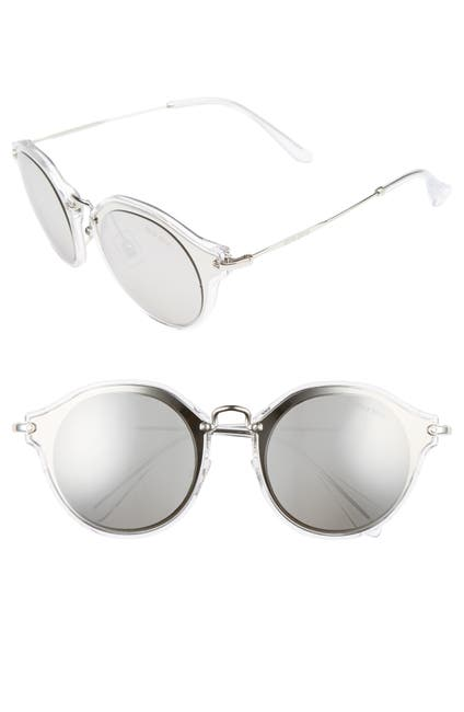 Image of MIU MIU Cat Eye 49mm Sunglasses
