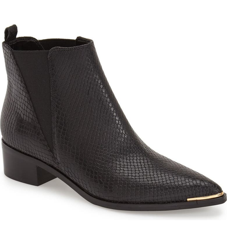 MARC FISHER LTD 'Yale' Chelsea Boot, Main, color, 001