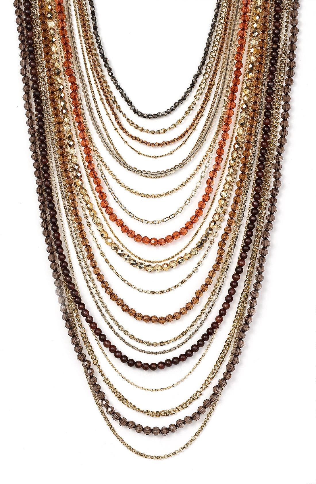 ,                             Beaded Long Multistrand Necklace,                             Main thumbnail 9, color,                             298
