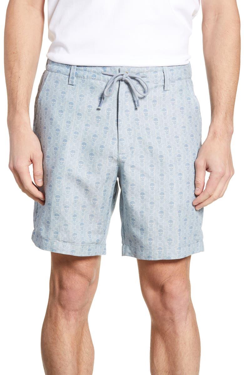ROBERT GRAHAM Babson Shorts, Main, color, 400