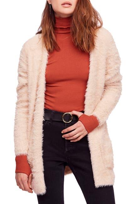 Image of Free People Faux Fur Cardigan