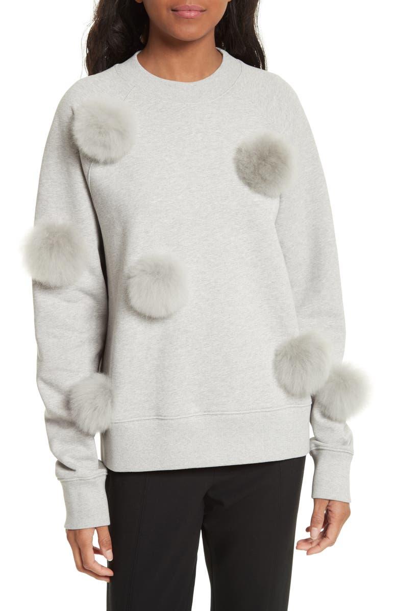 ebd874cb97 Tibi Pompom Sweatshirt | Nordstrom