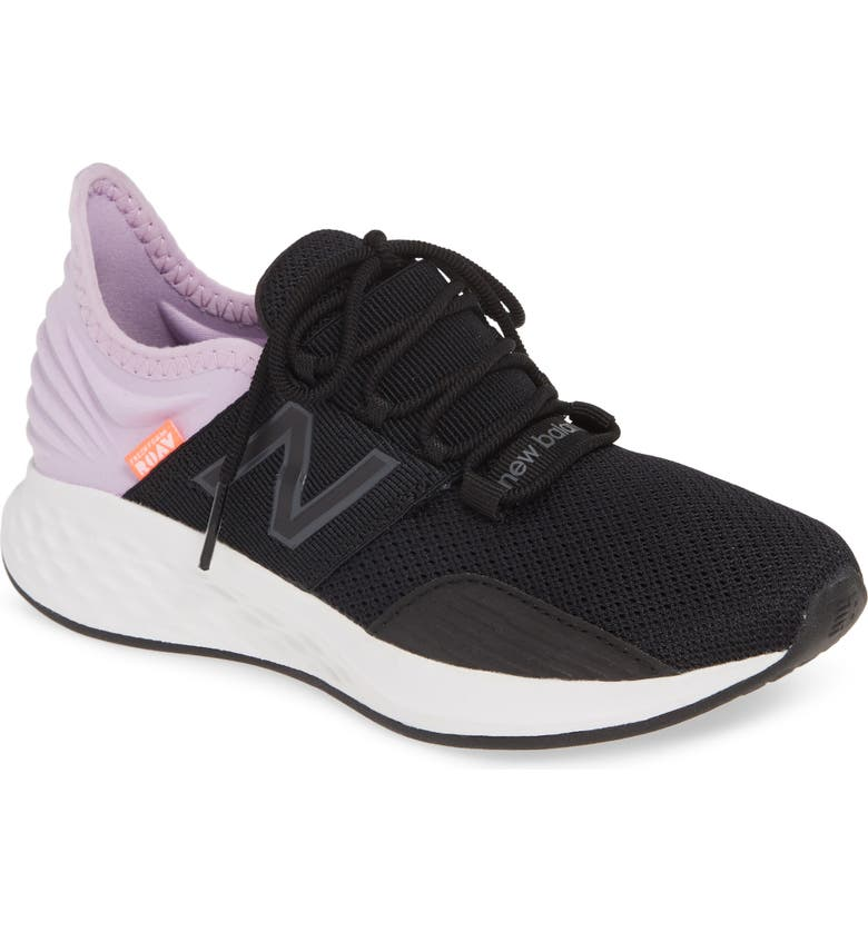 NEW BALANCE Fresh Foam Roav Knit Sneaker, Main, color, BLACK