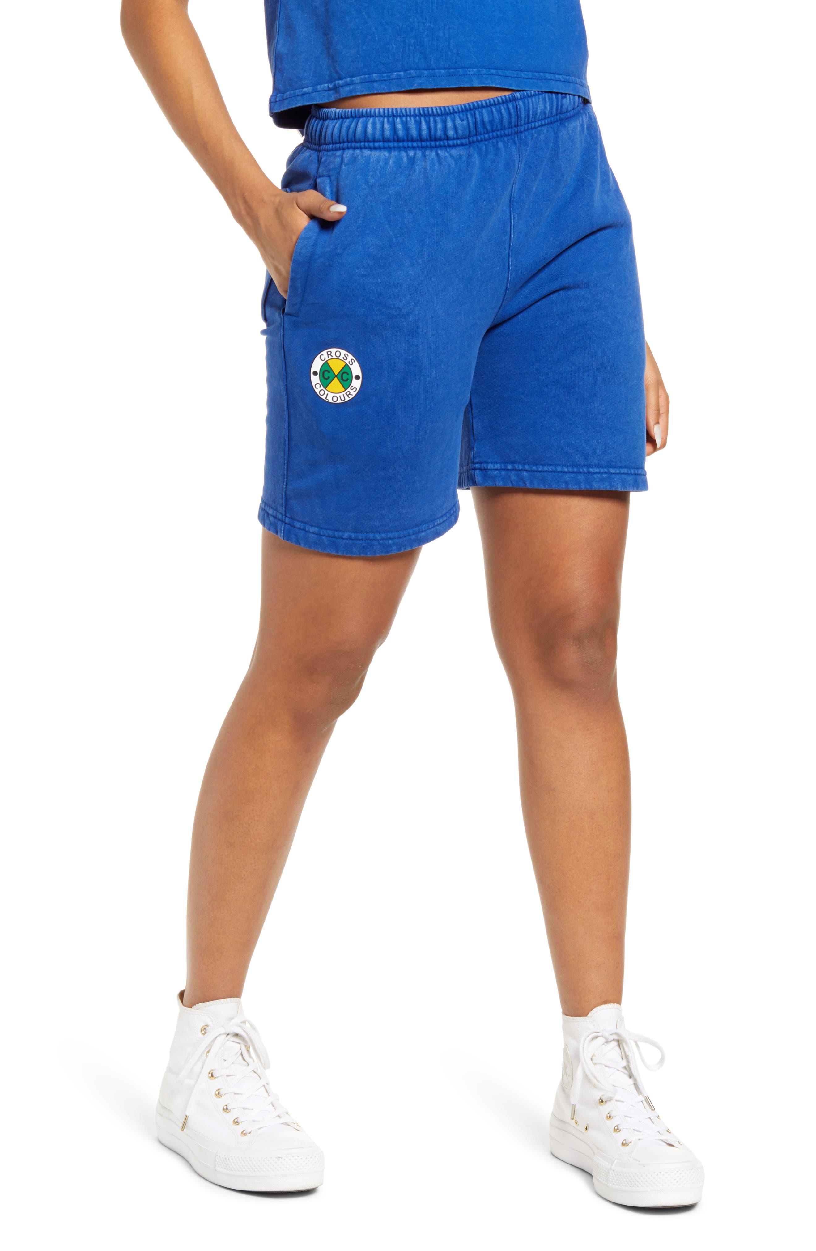 Fleece Circle Logo Shorts