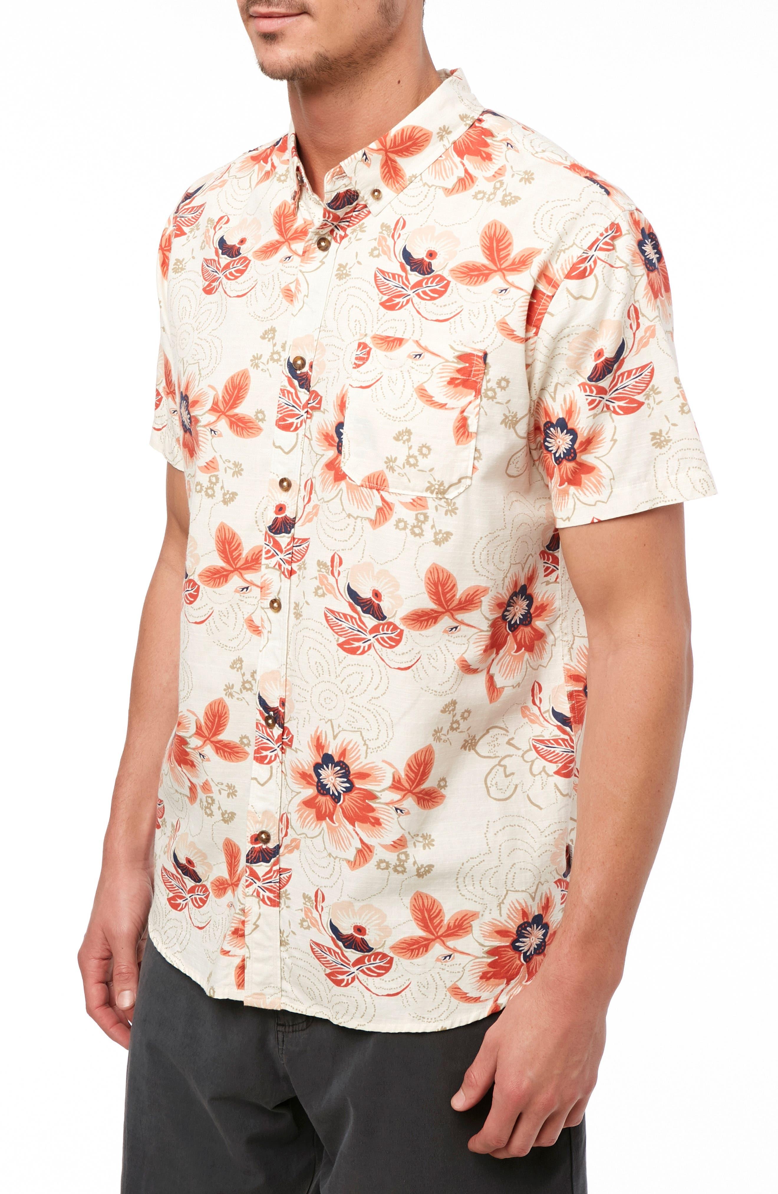,                             Boca Bay Sport Shirt,                             Alternate thumbnail 3, color,                             BONE