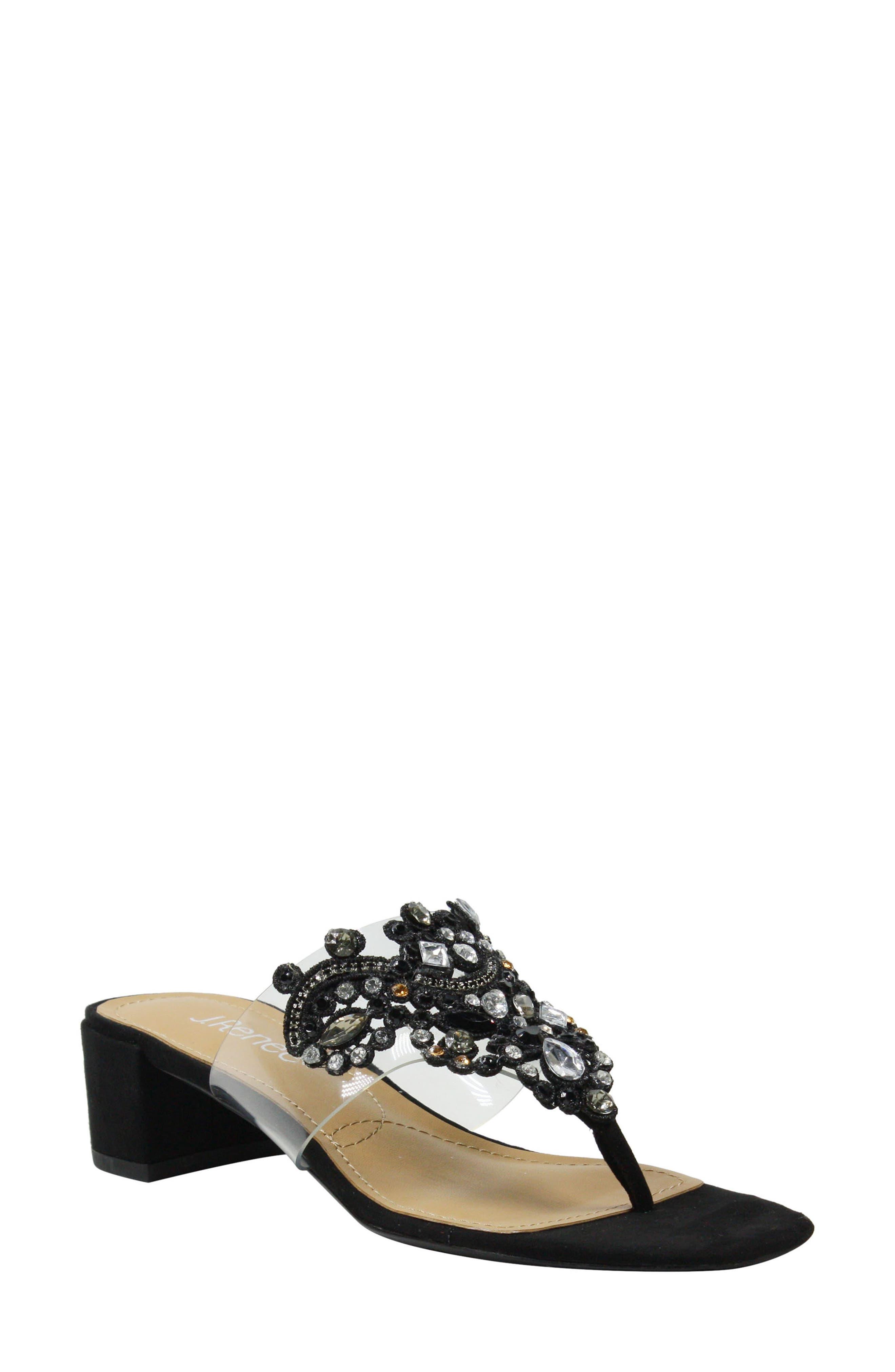 J. Reneé Jonette Embellished Slide Sandal (Women)