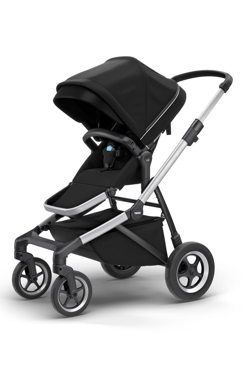 THULE 2018 Sleek City Stroller, Main, color, BLACK