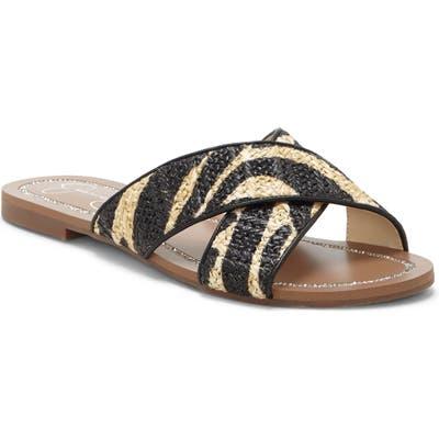 Jessica Simpson Elaney Slide Sandal- Black