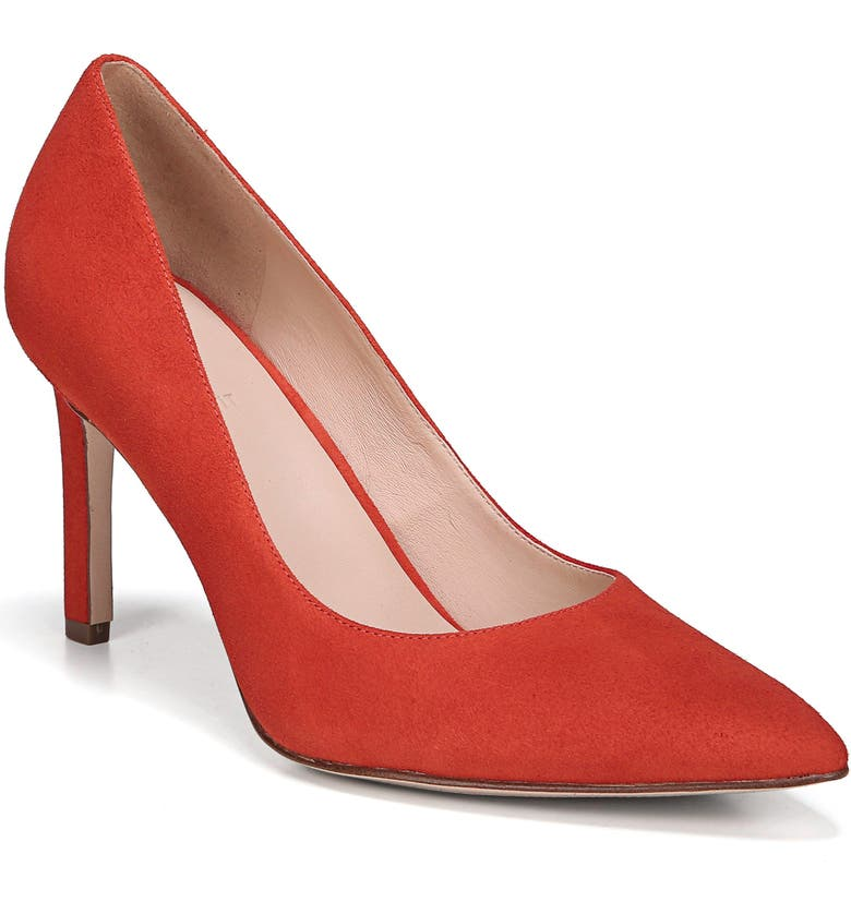 27 EDIT Alanna Pump, Main, color, POPPY SUEDE