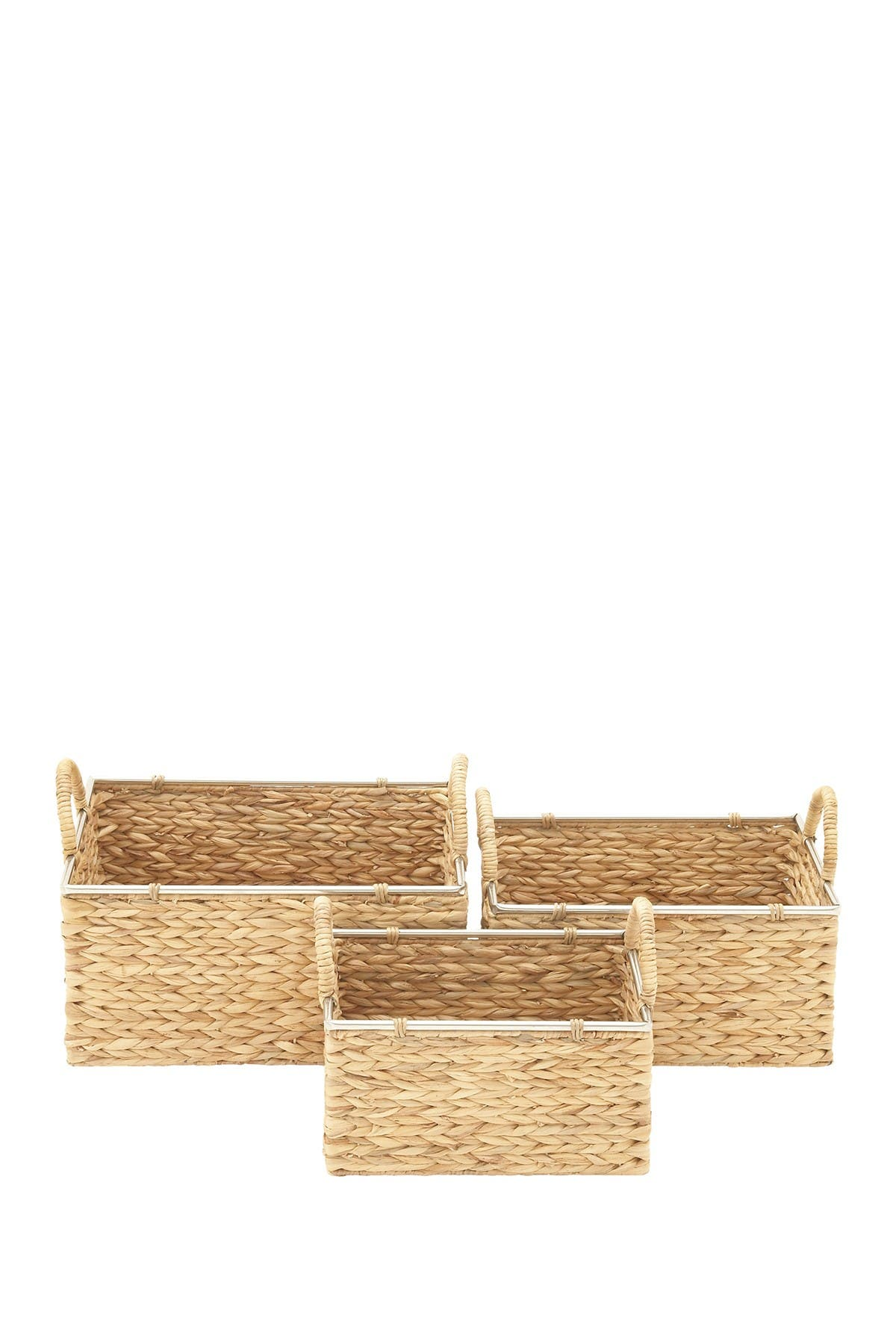 Image of Willow Row Seagrass Basket - Set of 3