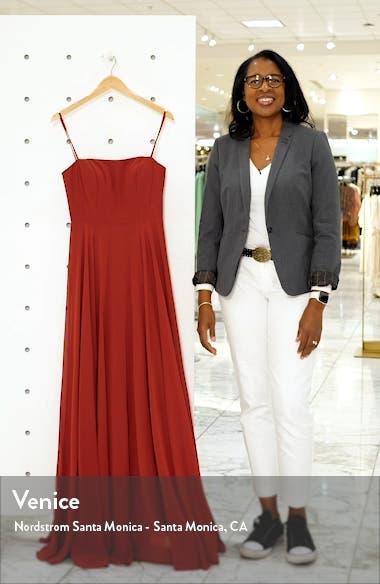 Renee Chiffon Evening Dress, sales video thumbnail