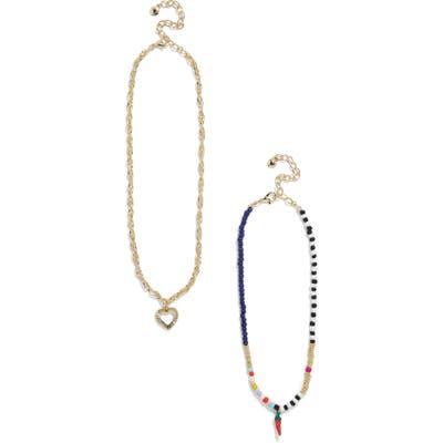 Baublebar Nicoleta Set Of 2 Pendant Necklaces